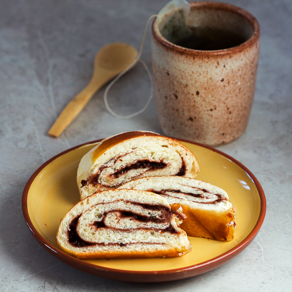 A quick guide for plum jam filled strudel pastry. Smooth, soft, warm, perfect with your favorite cup of tea.
