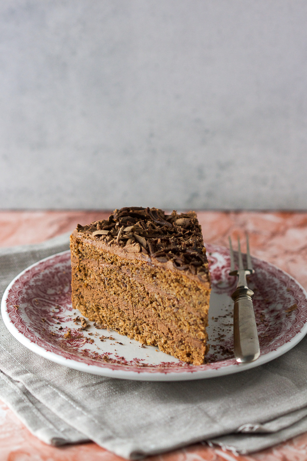 You will want to grab and run this stunningly luscious, mama's chocolate walnut cake. It's destined to become the classic you reach for when you crave a perfect blend of filling and cake.