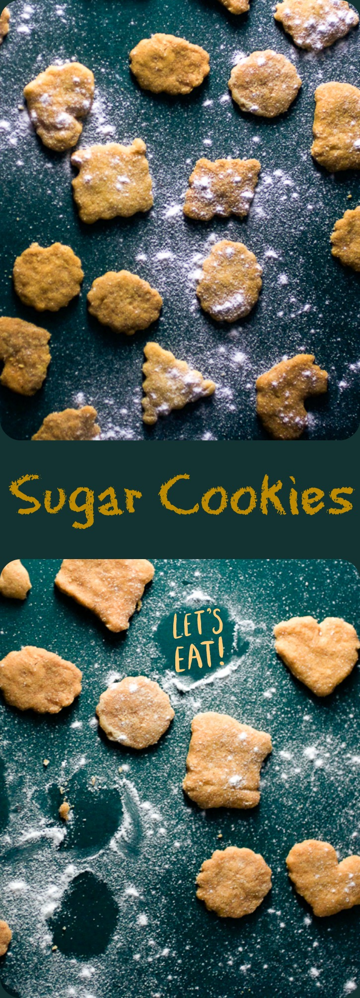 Bite sized melt-in-your-mouth sugar cookies. Perfect with a glass of milk.