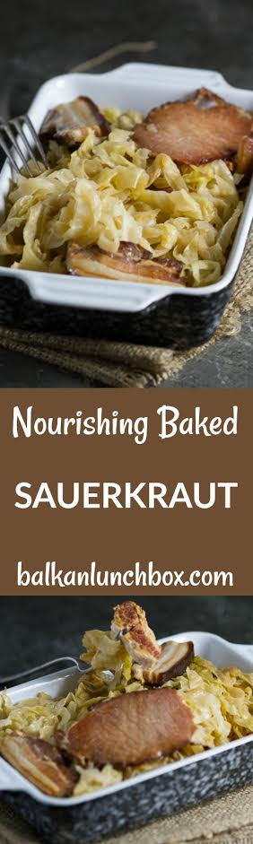 Today's baked sauerkraut is for all our foodies who are specific in their tastes and jump in without much fuss, only to find themselves enamored with a new delicacy they just discovered. Does this describe you?