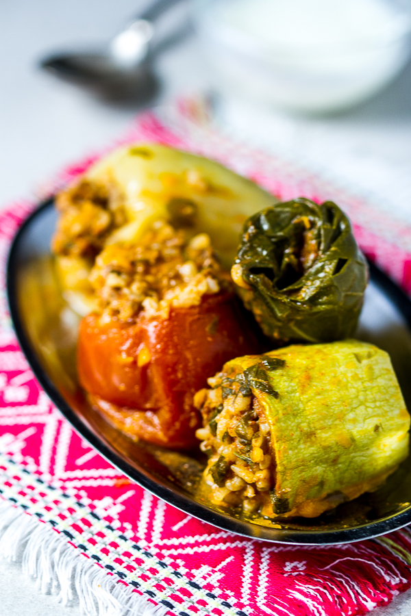 Dolmas, or stuffed vegetables, is maybe the most recognizable dish from the Balkans. Ground beef is mixed with onions, garlic plus spices, and used as a filling for several veggies (zucchini, onions, tomatoes, peppers and Swiss chard), until it's all ... <a class=